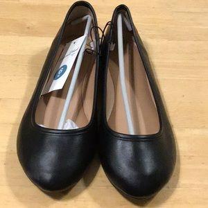 Universal Threads Ladies Black Everly Ballet Flats